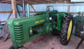The John Deere Tractors, Implements, Garage & Household Online Only Auction