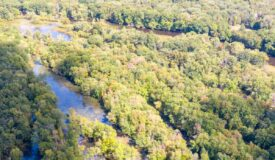 40 prime hunting acres just off the Wisconsin River