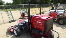 The Golf Course Equipment Online Only Auction