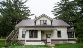 Endless opportunities with this Income Generating Multi Family, Tillable, and Hunting Property